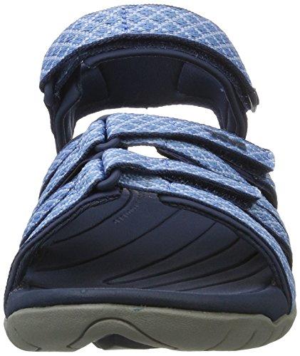 Teva Tirra W's, Chaussures d'Athlétisme Femme Bleu (Buena Powder Blue)