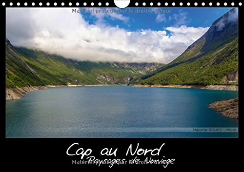 Cap au nord - paysages de Norvge : Calendrier illustr de paysages scandinaves. Calendrier mural A4 horizontal 2016