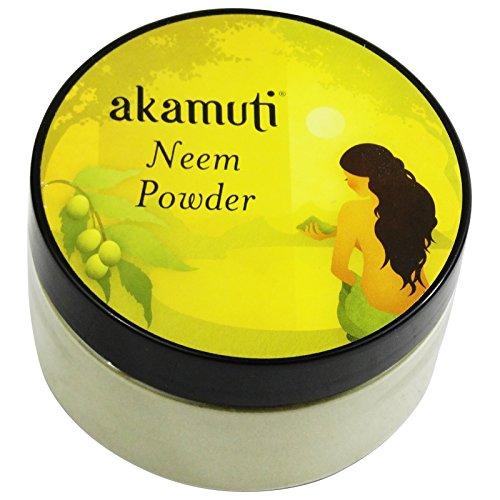 akamuti - neem in polvere purificante pelle e capelli anti age anti caduta forfora