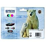 Epson original - Epson Expression Premium XP-520 (26XL / C13T26364020) - Tintenpatrone MultiPack (schwarz, cyan, magenta, gelb)
