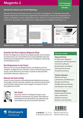 Magento 2: Das umfassende Handbuch. Installation, Anwendung, Plug-ins, Erweiterungen, Zahlungsmodule, Gestaltung u.v.m. - 2