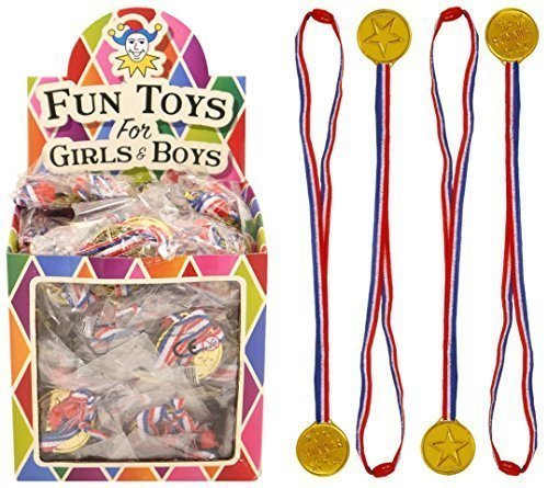 gold-winners-medals-box-of-120-bulk-wholesale-childrens-party-bag-favour-filler-fete-lucky-dip-prize