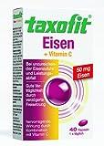 TAXOFIT Eisen + Vitamin C Kapseln, 40 St