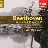 Beethoven : Symphonies n° 6, n° 8 et n° 9
