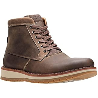 Clarks – Mens Varby Top Low Boot