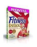 Nestlé Fitness Delice Cereali Croccanti con Cuore Morbido ai Frutti Rossi - 350 gr - [confezione da 4]