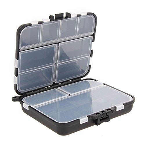 Anyutai Fishing-Lure-Boxes-Bait Tackle-Plastic-Storage, Petit-Lure-Case, Mini-Lure-Box pour Gilet, Accessoires de pêche Conteneurs de Stockage
