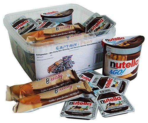 x Party Box 30-teilig, mit Ferrero Nutella Spezialitäten, 1er Pack (1 x 556g) (Halloween-mix-getränke Für Die Party)