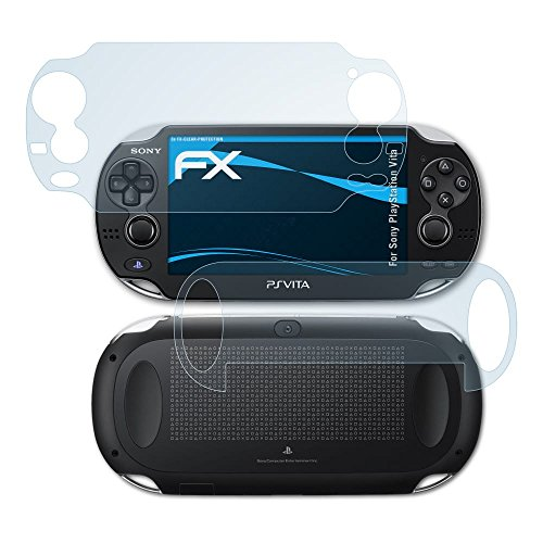 atFoliX Sony PlayStation Vita Screen Protector - Set of 3 - FX-Clear crystal clear