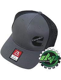 Diesel Power Plus Dodge Cummins Trucker hat Ball Richardson Charcoal Gray  Black mesh Flex fit SM 53b5072585e4