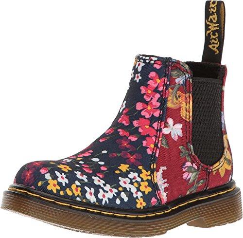 ofty T Chelsea Boots für Kinder, Unisex, schwarz, - Indigo/Dark Red T Canvas - Größe: Medium / 7 F(M) UK Jugend / 8 M US Kleinkind ()