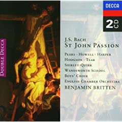 """J.S. Bach: St. John Passion, BWV 245 / Part Two - """"When His Life Had Reached Its End"""""""