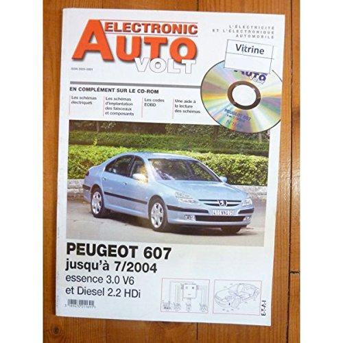 Electronic Auto Volt - 607 -04 Revue Technique Electronic Auto Volt Peugeot par E.T.A.I.