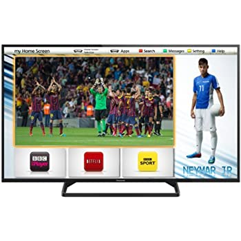 Panasonic TX-32AS500B 32-inch HD Ready Smart LED TV with Built-In Wi-Fi and Freeview (New for 2014) (Discontinued by Manufacturer) (discontinued by manufacturer)