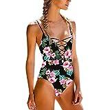 bañadores mujer 2017 una pieza casual Switchali atractivo bikini mujer baratos bañadores mujer push up Verano Cintura Alta Traje De Baño Bra playa ropa de mujer en oferta (Large, Multicolor)