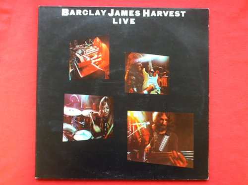Barclay James Harvest Live 2LP Polydor 2683052 EX/VG 1974 double LP