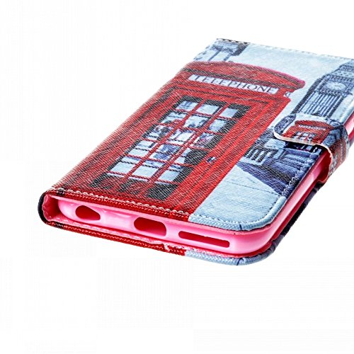 Ancerson Multi-Colored PU Pelle Patta Borsa Custodia Protettiva per Apple Iphone 6 Plus 5.5 pollici inch In Pittura ad Olio Stil Colorful Painting Flip Case Custodia in pelle sintetica custodia cover  Telefonzelle