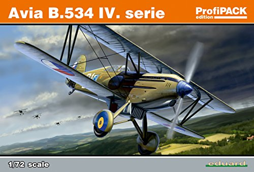 eduard-plastic-kits-70102-modellbausatz-avia-b534-iv-serie-profipack-grau
