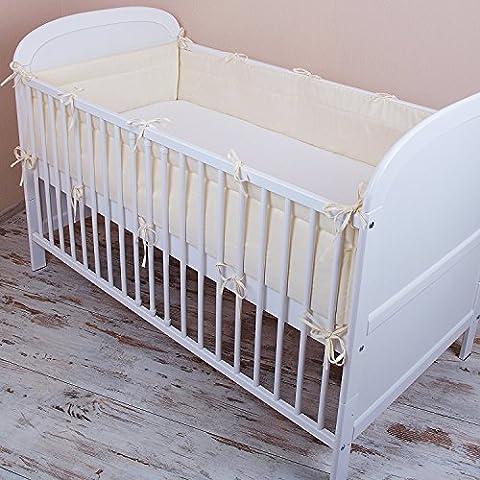Amilian® Bettumrandung Nest Kopfschutz Nestchen 420x30cm, 360x30cm, 180x30 cm Bettnestchen