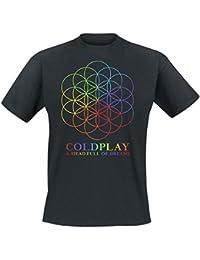 Coldplay A Head Full Of Dreams Camiseta Negro
