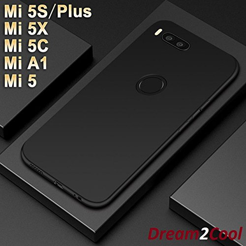 outlet store 6cd28 27787 Dream2Cool 360 Degree Ipaky-Full Body Protection (Front+ Back + Temper  Glass) Case Cover for XIAOMI MI A1 -Metal Black