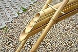 Woolux Wasserspiel aus Bambus inkl. Plastikschlauch (ohne Pumpe) ...