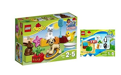 LEGO® Duplo Set - 10838 Haustiere + 30322 Wildlife Überraschungspackung