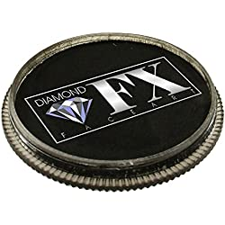 Diamond FX Essential Facepaint 30gm Cara Esencial Pintura - Negro