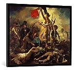 Gerahmtes Bild von Eugène Delacroix