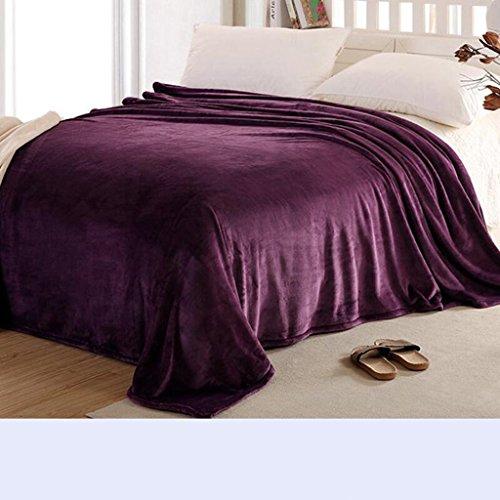 Xuan - worth having Red Plum Purple Blanket Verdickung Warm Nap Decken Winter Student Dormitory Bettwäsche Quilts ( größe : 230*240cm ) -