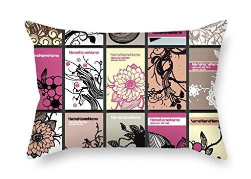 Die Farbe Block Kissenbezüge der 40,6x 61cm/40von 60cm Dekoration Geschenk für Mädchen Bench Gril Freund Spielen Raum Kaffee Haus (Zwei Seiten)