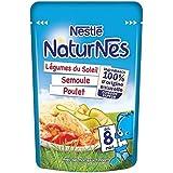 Nestlé Naturnes doypack légumes de soleil semoule poulet 190g - ( Prix Unitaire ) - Envoi Rapide Et Soignée