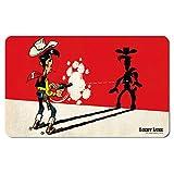 Lucky Luke - Faster Than His Shadow Frühstücksbrettchen - farbig - Lizenziertes Originaldesign - LOGOSHIRT