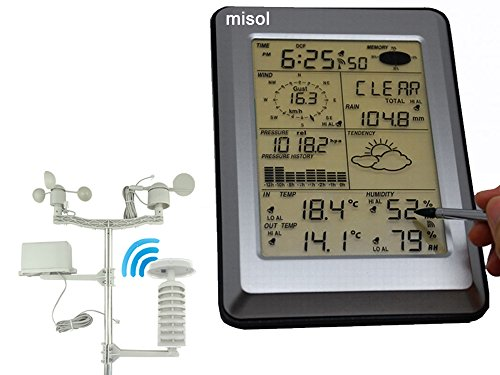 MISOL Professional Wireless Weather Station Touch