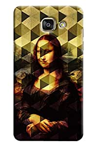 Clarks Mona Lisa Inspired Hard Plastic Printed Back Cover/Case For Samsung Galaxy A5 2016