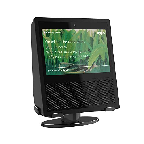 Price comparison product image Teepao Echo Show Stand,  Horizontal 360° Rotation for Amazon Echo Show Rotated Left Right Shining Metal Base with Double Bearings for Alexa Echo Show,  Echo Show Accessories Protector,  No Need Assembly