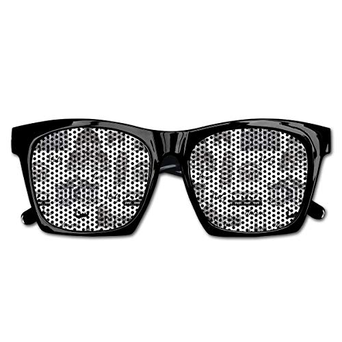 EELKKO Mesh Sunglasses Sports Polarized, Monochrome Sketch Style Famous Places from Italy Rome Milano European Architecture,Fun Props Party Favors Gift Unisex
