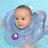 Nestglück Premium Baby-Schwimmring   Schwimmhilfe für den Hals   Schwimmreifen für Säuglinge und...