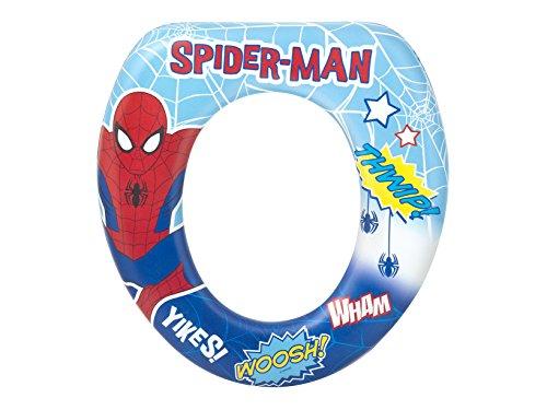 Lulabi 1503 spiderman riduttore wc soft, multicolore