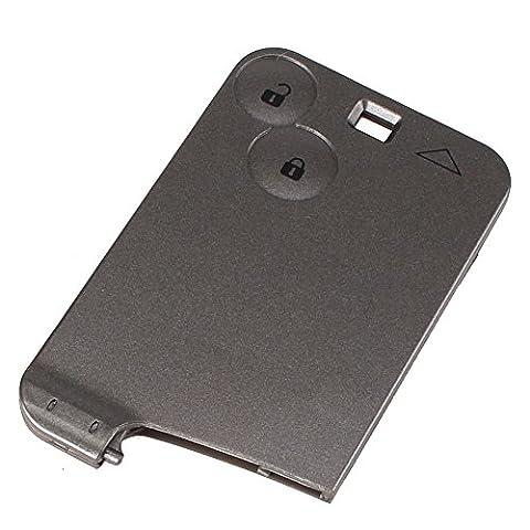 Sypure (TM) New Remplacement 2 Bouton Key Card Remote Shell Case Pour Renault Laguna Espace Livraison gratuite