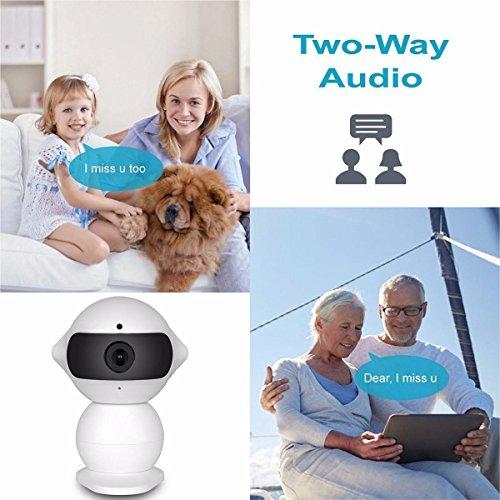 Wireless IP Überwachungskamera – ELEGIANT Mini Roboter 360 Grad Schwenkbar Drahtlose WLAN Wifi - 6