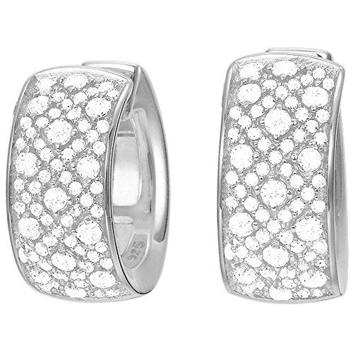 espirit-jw50056-esco02003a000-womens-creole-earrings-rhodium-plated-with-white-zirconia