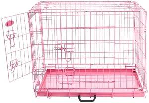 Easipet Cage pour chien Rose 76,2 cm