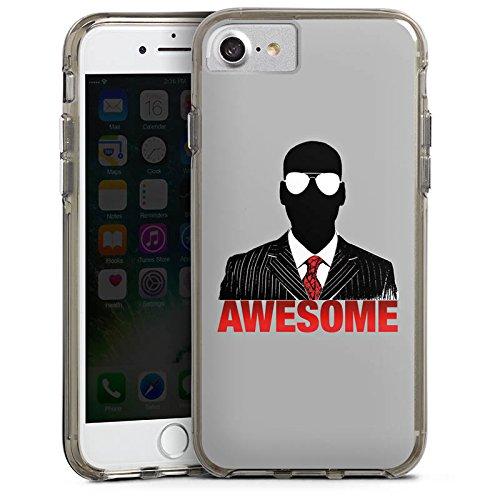 Apple iPhone X Silikon Hülle Case Schutzhülle iHausparty Merchandise Fanartikel Youtuber Bumper Case transparent grau