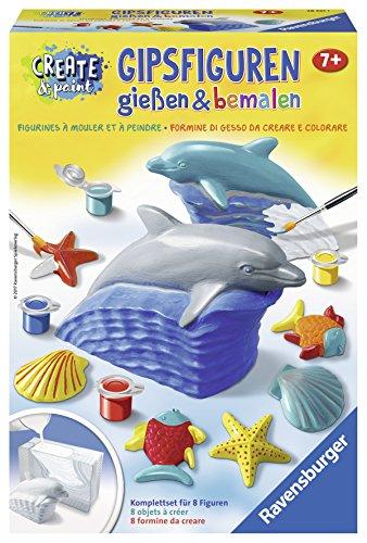 "Ravensburger 28521 - Create & Paint Gipsfiguren \""Delfin\"""