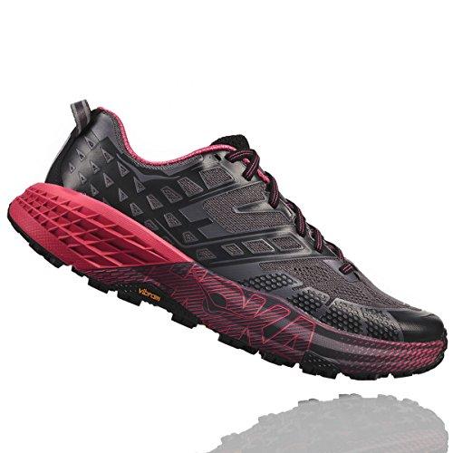 Hoka SpeedGoat 2 Woman Black/Azalea - Scarpa Trail Running Donna -