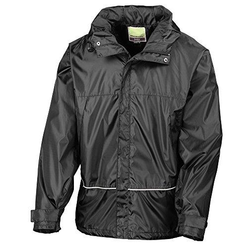 Result Junior/youth waterproof 2000 pro-coach jacket Black