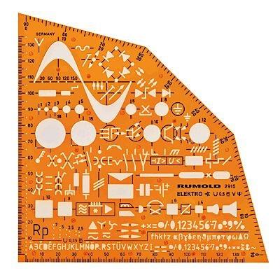 trace-gabarit-symboles-de-installation-electrique-electronique-genie-plan-schema-circuit-cablage-del