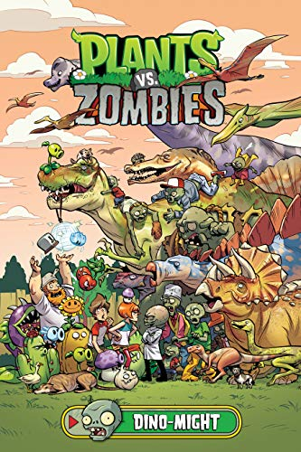 Plants vs. Zombies Volume 12: Dino-Might (English Edition)