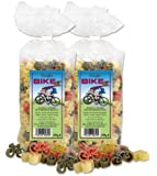 """Fahrrad-Nudeln """"Pasta Bike"""" 2er Set"""